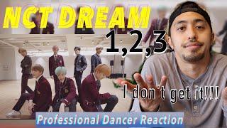 NCT DREAM 엔시티 드림 1 2 3 Dance Practice 교복 ver. Professional Dancer Reacts