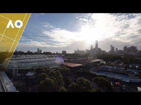 The AO from above | Australian Open 2017