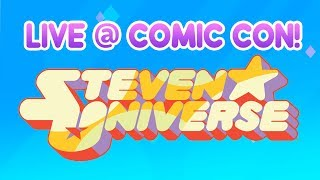 LIVE from San Diego Comic-Con! Q&A with Steven Universe cast.