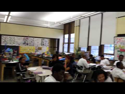 Detroit Lions Visit Golightly Education Center, Part 2 - Athletes For Charity