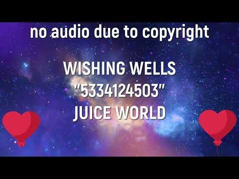 roses juice wrld roblox id code Roblox Music Id Code For Juice Wrld Wishing Well Full Song Youtube