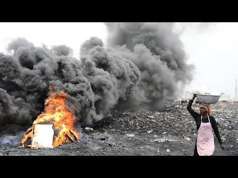 Elektromülldeponie Agbogbloshie: Leben und arbeiten am verseuchtesten Ort der Welt