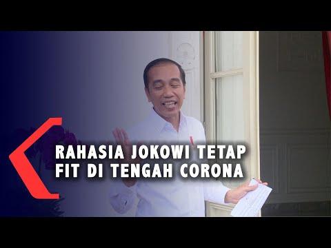 Rahasia Sehat Jokowi dengan Jamu Herbal untuk cegah Corona