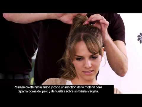 Peinados Para Pelos Con Flequillo Inspirados En Elsa Pataky Youtube