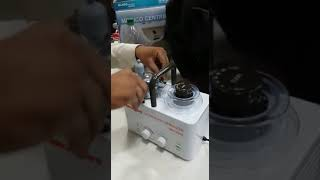 How  to start ultrasonic nebulizer in marathi