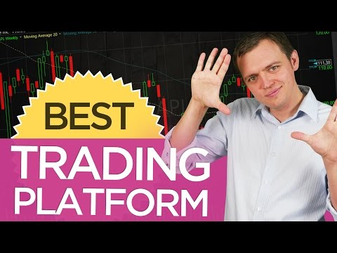 Which trading platform or broker would you recommend for a new trader?