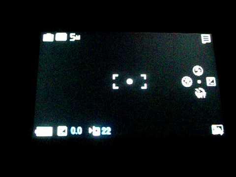 Samsung S7350 Ultra s: fotoaparát