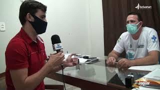 TABULEIRO DO NORTE Secretário de Saúde Charles Campelo fala sobre a gestão da pandemia no município.