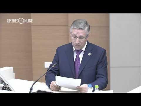 """Радик Гайзатуллин сообщил о том, что от """"Газпрома"""" с октября не поступает налог на прибыль"""
