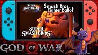 Massive News: Smash Bros Switch Release Date & Ballot  God of War File Size Spyro the Dragon Trilogy