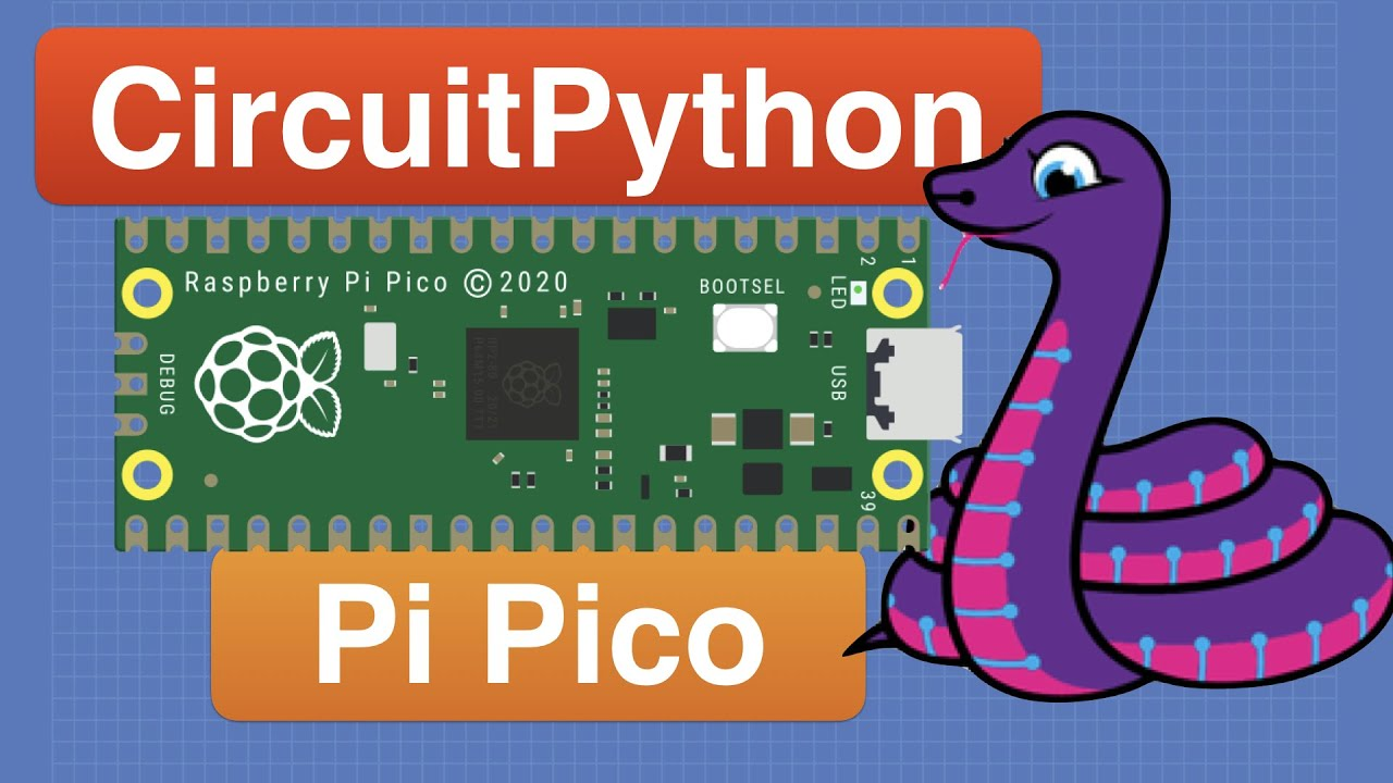 CircuitPython with Raspberry Pi Pico - Getting Started