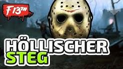 EIN HÖLLISCHER STEG - ♠ FRIDAY THE 13TH: THE GAME ♠ - Deutsch German - Dhalucard