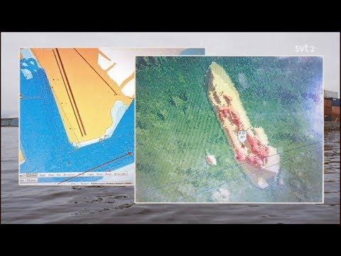 Misstänkt u-båt i Gävle Hamn en streaming