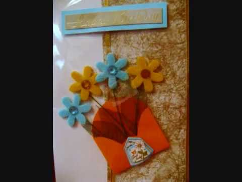 Hand Made Greeting Cards YouTube