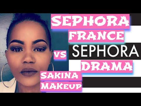 sephora france vs la youtubeuse beaute sakina makeup drama youtube. Black Bedroom Furniture Sets. Home Design Ideas