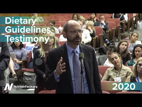 Highlights from the 2020 Dietary Guidelines Hearing thumbnail