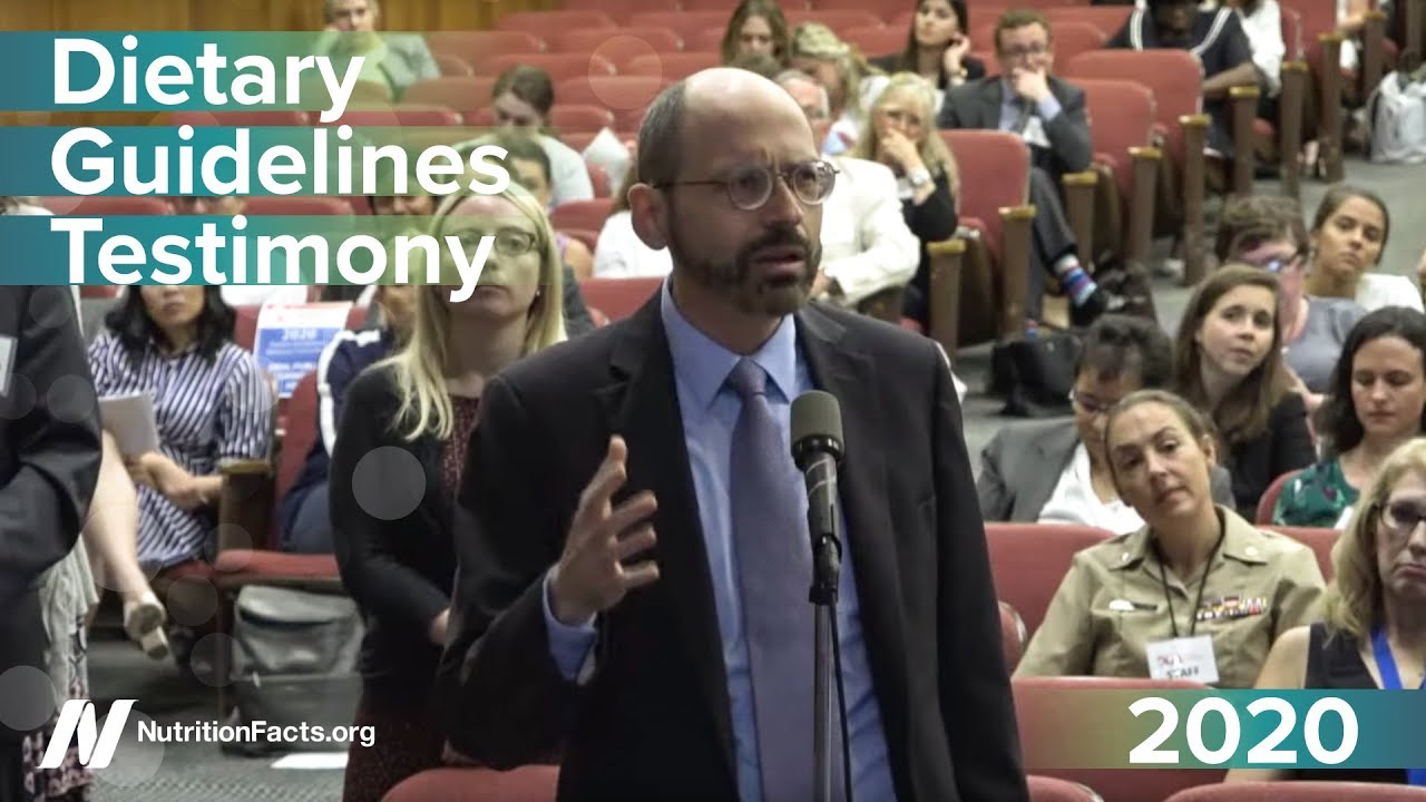 Highlights from the 2020 Dietary Guidelines Hearing