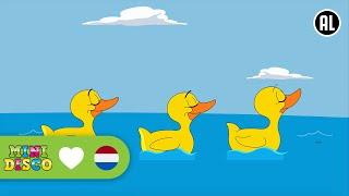 Alle Eendjes Zwemmen In Het Water | Kinderliedjes | Liedjes voor peuters en kleuters | Minidisco thumbnail