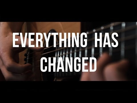 Everything Has Changed - Taylor Swift ft. Ed Sheeran - Fingerstyle Guitar Cover by James Bartholomew