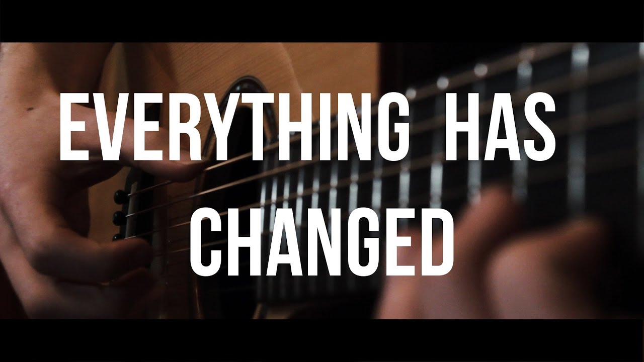 Everything Has Changed Taylor Swift Ft Ed Sheeran Fingerstyle