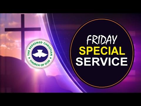 RCCG Dubai FRIDAY SPECIAL SERVICE