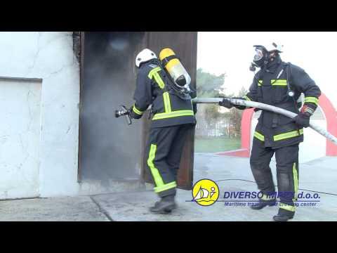 Advanced fire fighting maritime course - STCW VI/3 - brevet D12 - Diverso Impex