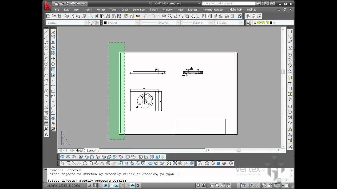 Как сделать чертеж в автокаде в масштабе фото 946