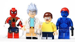 Китайские LEGO Минифигурки