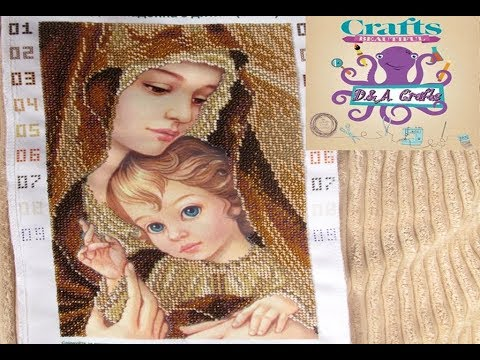 DIY: How to make beautiful tapestry (gobelin) made of beads TUTORIAL