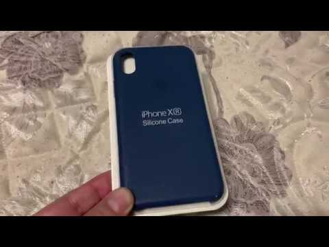 new product 79d56 f74ec iPhone XR Silicone Case Blue Horizon Color