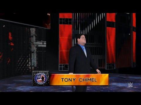 PC世界摔角娛樂WWE 2K16 - 托尼·奇默[Tony Chimel] Vs. 布克 T [宇宙狂熱'16] [普通規則賽][14/11/