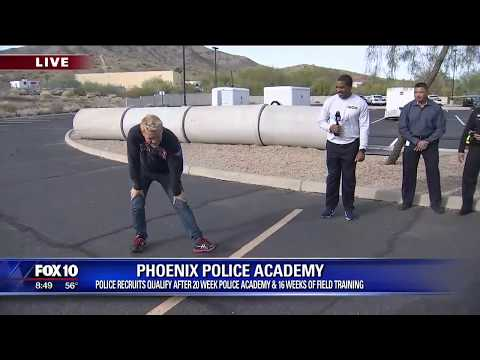 Cory's Corner: Phoenix Police Academy