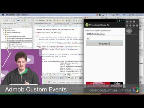 Writing Custom Events for AdMob Mediation