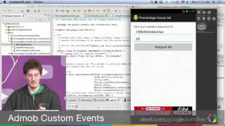 Writing Custom Events for AdMob Mediation