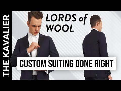 First Look: Lords of Wool Review & Unboxing – Best MTM So Far?