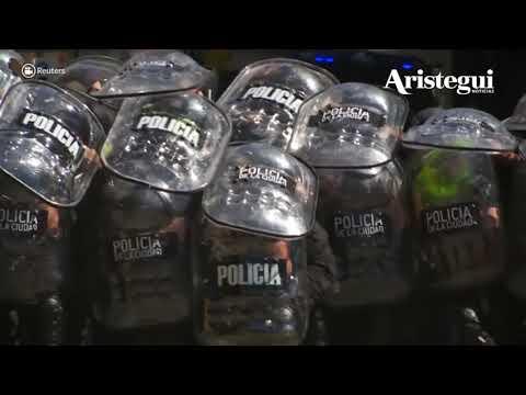 Intensifican protestas en Argentina por reforma al sistema de pensiones