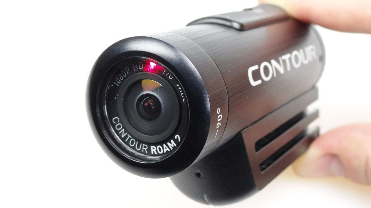 Contour Roam2 Helmet Mounted Action Camera - REVIEW - YouTube