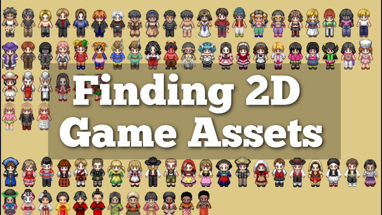 Finding Free and Paid 2D Sprite / Pixel Art Game Assets