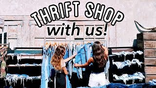 Thrift Shopping with Hailey Sani & Hannah Meloche!