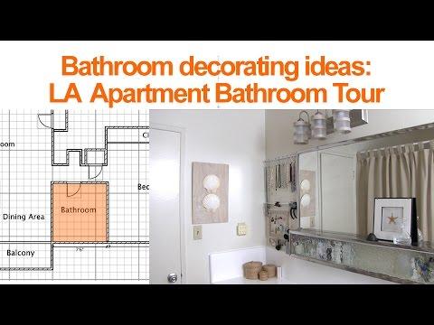 Bathroom decorating ideas la bathroom tour youtube for Megan u bathroom tour