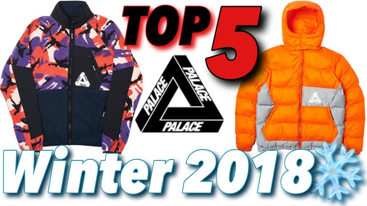 4101bb63c868 Top 5 Palace Winter 2018 Items! - YouTube