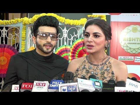 Shraddha Arya And Dheeraj Dhoopar Interview At Zee Rishtey Awards 2018 | Kundali Bhagya Couple