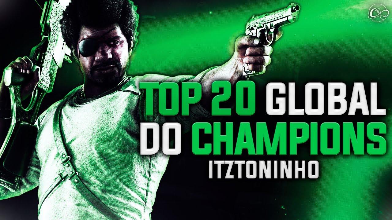 TOP 20 GLOBAL DO CHAMPIONS l Highlight #46 R6-PS4 l iTzToninho #GoRvP