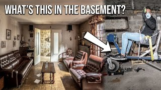 We made an UNEXPECTED FIND in the basement of this ABANDONED French house