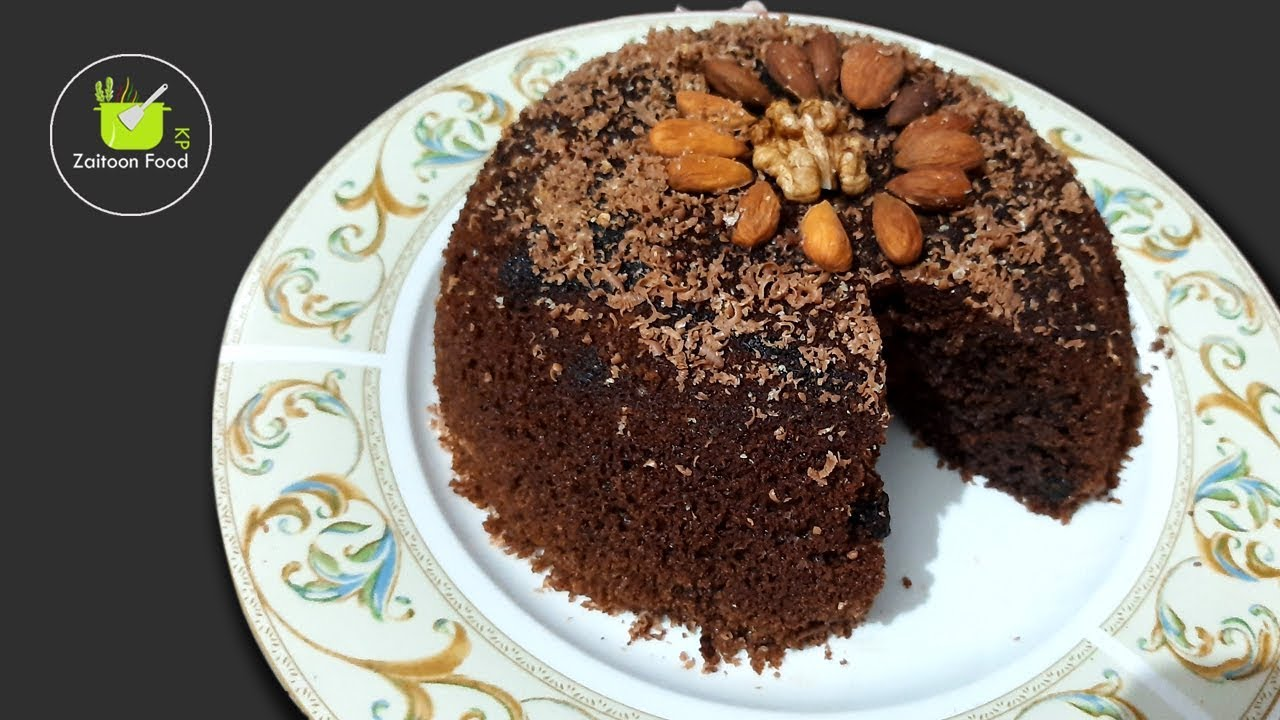 Without Oven Easy Chocolate Cake Recipe By Zaitoon Food KP ...