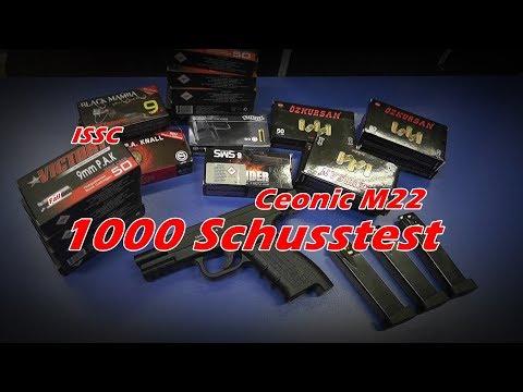 1000 Schusstest // ISSC M22 Ceonic // Neue Version //