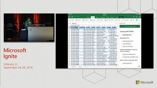 Excel SolutionPalooza! Get inspired by the latest greatest Excel extensibility - BRK3377