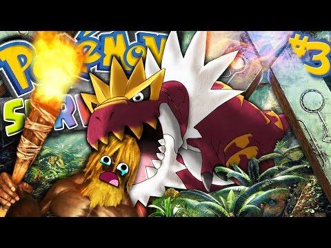 MANGIATO VIVO DAL POKEMON DINOSAURO - Pokemon Survival #3
