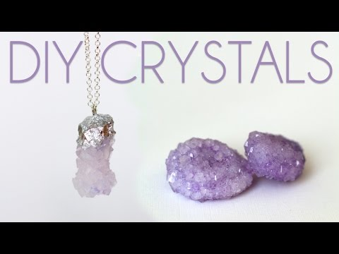how to make diy crystals