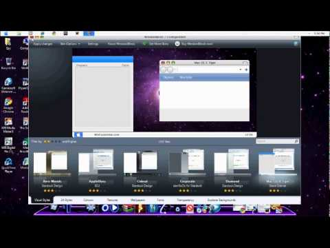 How to download and install Window Blinds 7 (Stardock ) For all Window